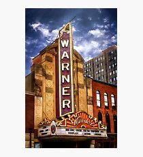 The Warner Theater Photographic Print