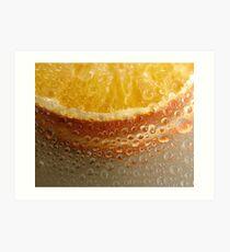 orange drops Art Print