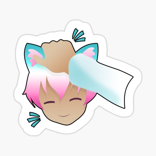 Headpat your Catgirl Today! Sticker