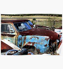 Rusty Blue    ( BoneYard Series ) Poster