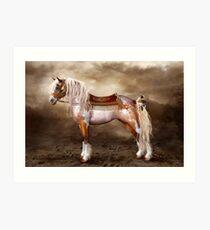 Cheveyo Native American Horse Art Print