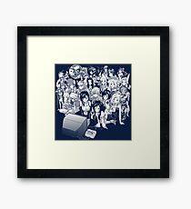 Rpg night  Framed Print