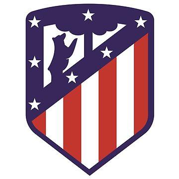 Atletico Madrid Logo de CheekyNut