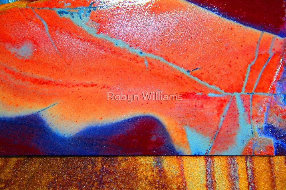 """Day 193   365 Day Creative Project  """"Rock Art II"""" by Robyn Williams"""