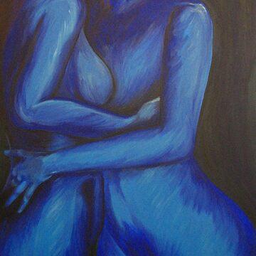 Feeling Blue by artCEW