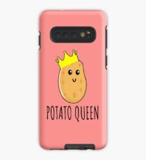 Funda/vinilo para Samsung Galaxy Reina de la patata - regalo divertido de la patata