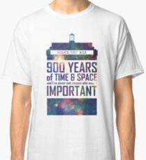 900 Years of Time and Space Classic T-Shirt