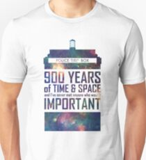 900 Years of Time and Space T-Shirt