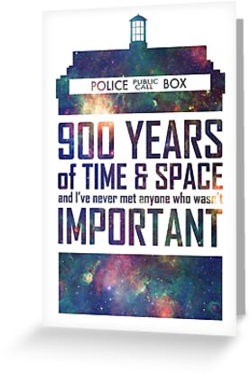 the importance of time and space