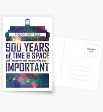900 Years of Time and Space Postcards