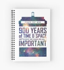 900 Years of Time and Space Spiral Notebook