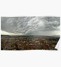 """Storm Over Firenze"" Poster"