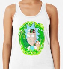 Rick and Morthy  Women's Tank Top