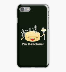 Pancakes are delicious! (brighter colors) iPhone Case/Skin