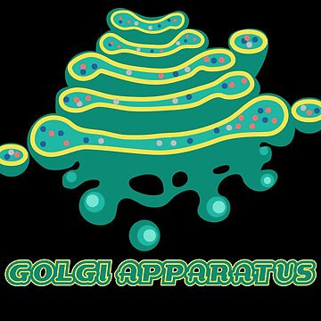 Golgi Apparatus Cell Biology Science by SDParty