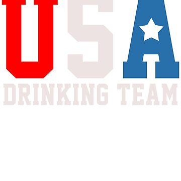 USA DRINK TEAM by 4tomic