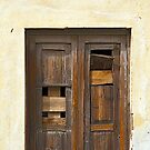 Sign of the Times - Brown Door by Kasia-D