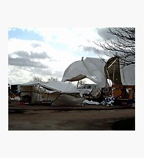 A natural disaster Photographic Print
