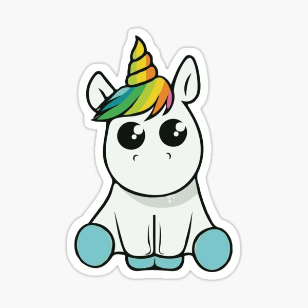 ★ Kawaii Unicorn Sticker