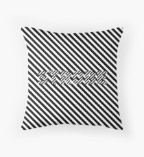 Strobe Throw Pillow