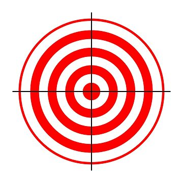 Target, Bulls eye by TOMSREDBUBBLE