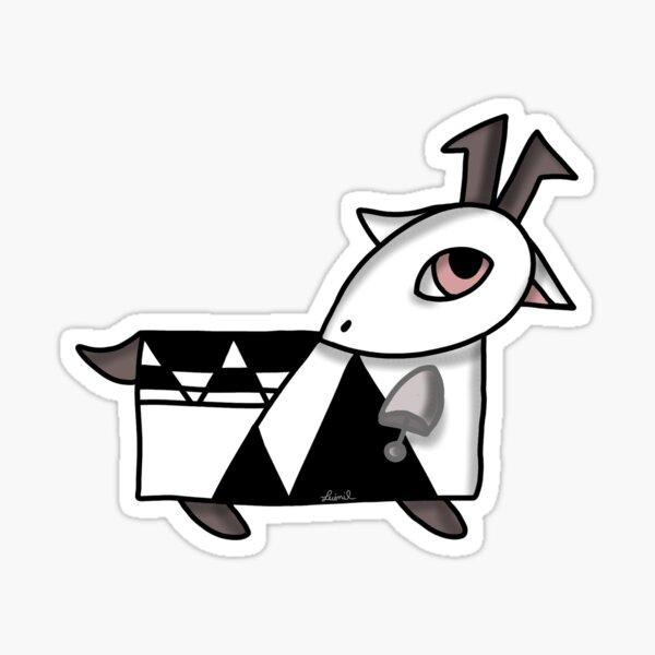 La capretta magica e il campanellino d'argento - Maria Lai Tribute Sticker