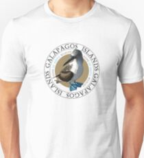 Galapagos-Inseln Blaufußtölpel Slim Fit T-Shirt