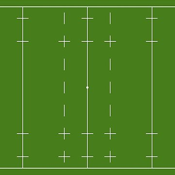 Rugby union pitch by TOMSREDBUBBLE