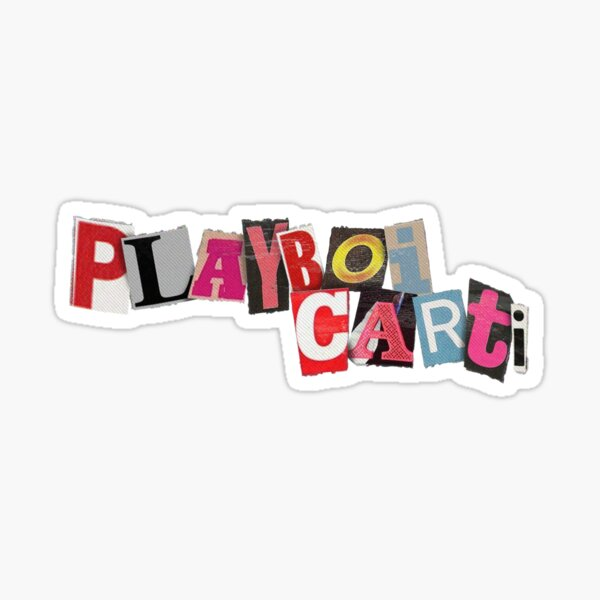 Playboi Carti Sticker