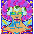 Lady of the Cosmic Eye by CaptSnowflake