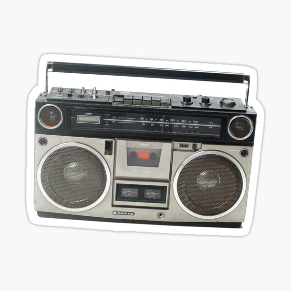 Antique Radio Stickers Redbubble