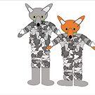 M Foxy and Mr Foxy by Mrs Foxy