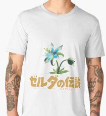 Zelda Breath of the Wild Flower Men's Premium T-Shirt