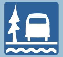 VW Bay Window Bus Camping