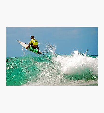 HUNGRY SURFER ! Photographic Print