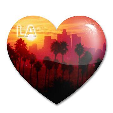 Los Angeles Heart by galacticrad