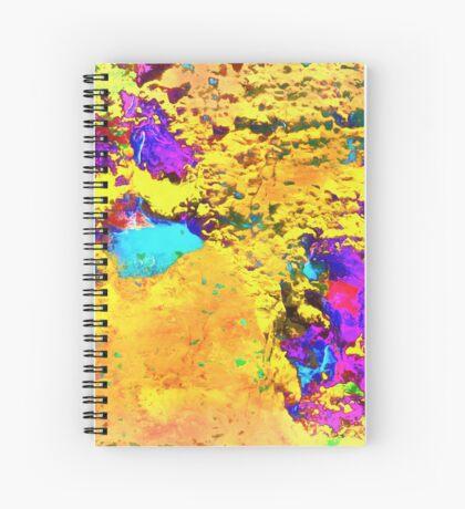 Paw Prints Desert Sands Spiral Notebook