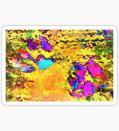 Paw Prints Desert Sands Sticker