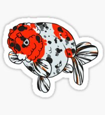 Fancy Goldfish - Ranchu Sticker