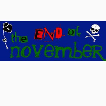 the end of november first logo by EndofNovember