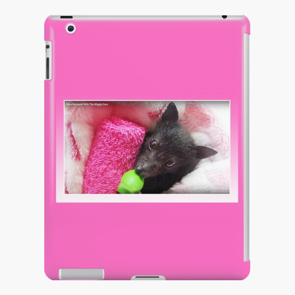 Batzilla - Batty for PINK! Miss Marigold with the Wiggly Ears  iPad Snap Case