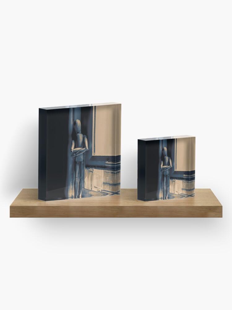 Alternate view of isolation Acrylic Block