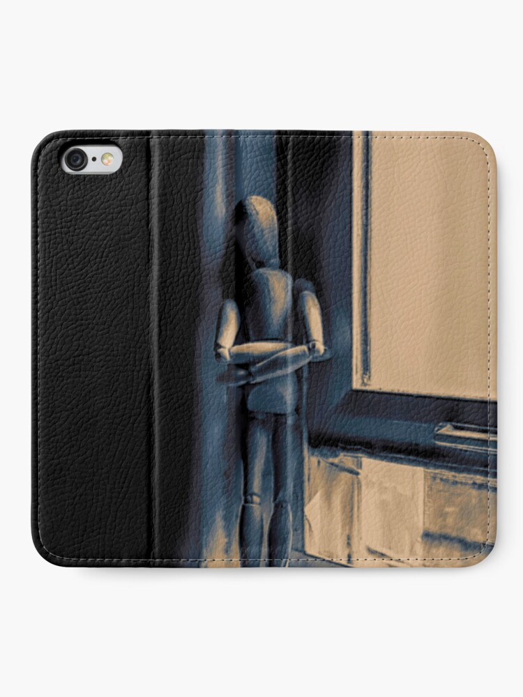 Alternate view of isolation iPhone Wallet