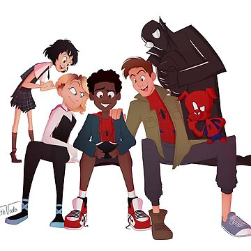 Spider Verse Gang by nathvods