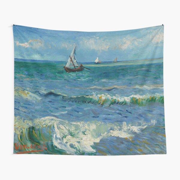 Vincent van Gogh, Paisaje marino cerca de Les Saintes-Maries-de-la-Mer, 1888 Pintura Tela decorativa