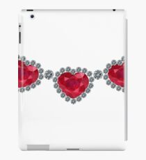 Pretty Woman Ruby Necklace iPad Case/Skin