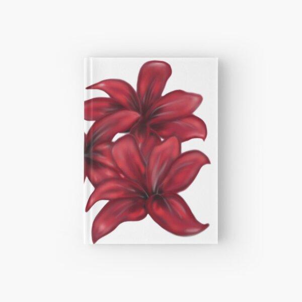 Rote Blüten / rote Blumen Notizbuch