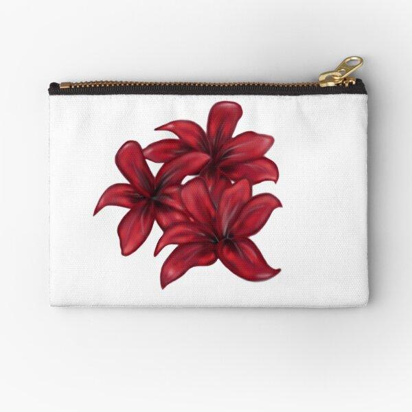 Rote Blüten / rote Blumen Täschchen