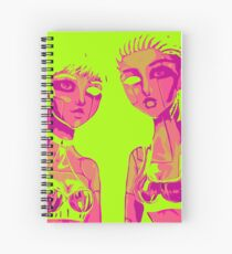 Androids Spiral Notebook