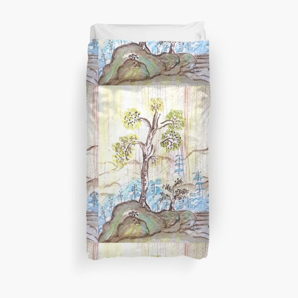 Wise Tree  Duvet Cover